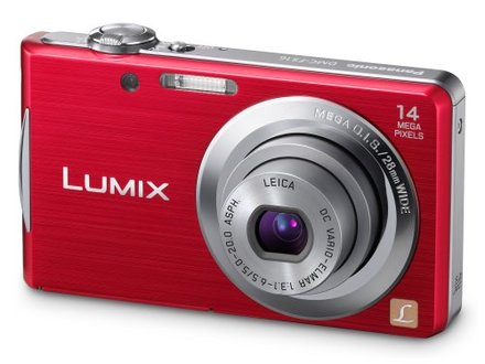 Panasonic Lumix DMC-FS16 červený