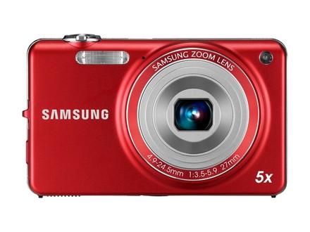Samsung ST65 červený + telefon E1080i zdarma!