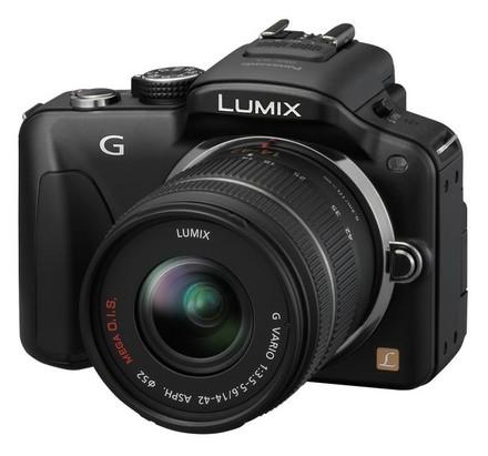 Panasonic Lumix DMC-G3 černý + 14-42 mm + 45-200 mm