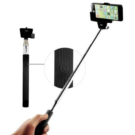 C-TECH selfie tyč MP107B teleskopický selfie držák