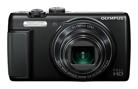 Olympus SH-21 černý + 4GB karta + pouzdro DF15 + kovový řetízek!