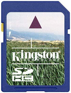 Kingston SDHC 4 GB Class 6