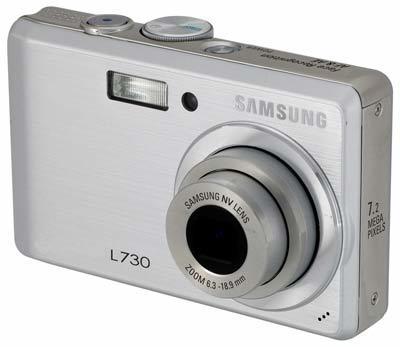 Samsung L730 stříbrný