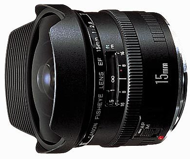 Canon EF 15 mm f/2,8 Fish-Eye