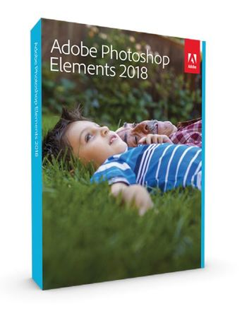 Adobe Photoshop Elements 2018 MP ENG FULL Box