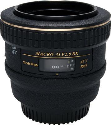 Tokina AT-X 35mm f/2,8 Pro DX Macro pro Canon