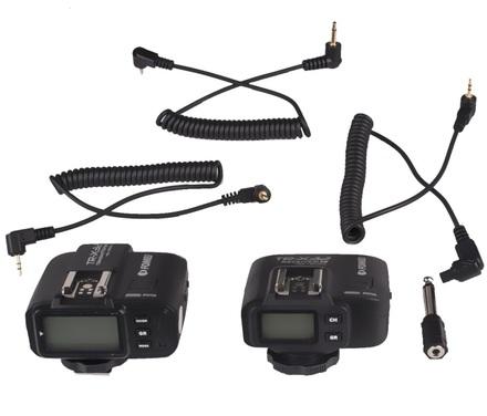 Fomei TR-X32 set odpalovače a přijímače blesků TTL pro Canon