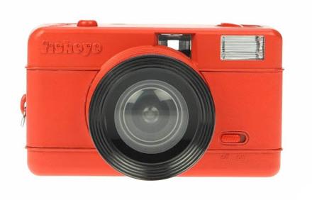 Lomography Fisheye Compact Camera Red