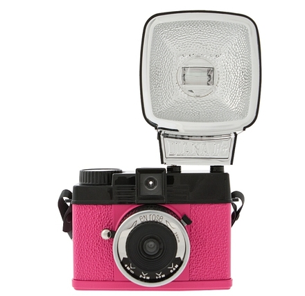 Lomography Diana Mini & Flash En Rose