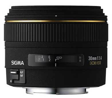 Sigma 30mm f/1,4 EX DC pro Sony