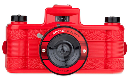 Lomography Sprocket Rocket Red