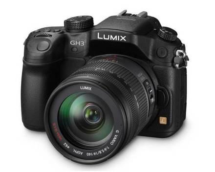 Panasonic Lumix DMC-GH3 + 14-140 mm