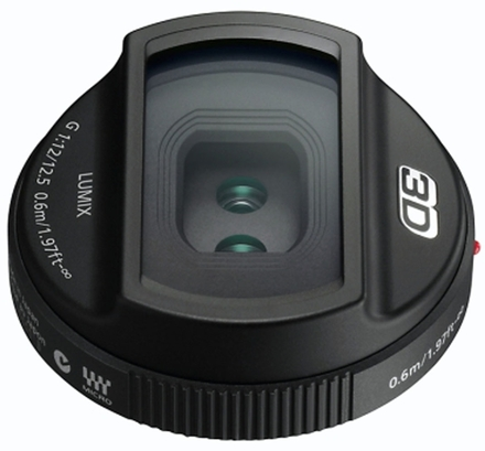 Panasonic 3D Lens Lumix G 12,5mm f/12