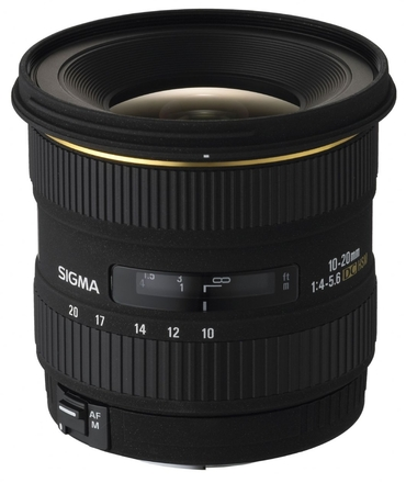 Sigma 10-20mm f/4,0-5,6 EX DC pro Sony