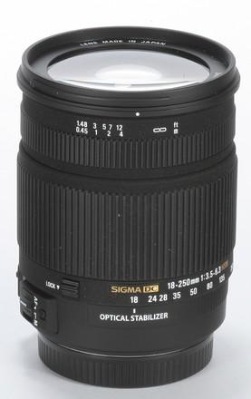 Sigma 18-250mm f/3,5-6,3 DC OS HSM pro Nikon