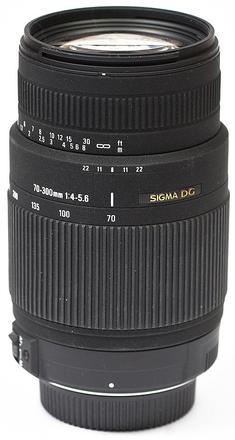 Sigma 70-300mm f/4,0-5,6 DG OS pro Nikon