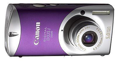 Canon Digital IXUS i Zoom fialová