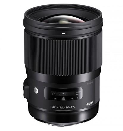 Sigma 28mm f/1,4 DG HSM Art pro Nikon F (FX)
