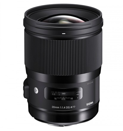 Sigma 28mm f/1,4 DG HSM Art pro Sony FE