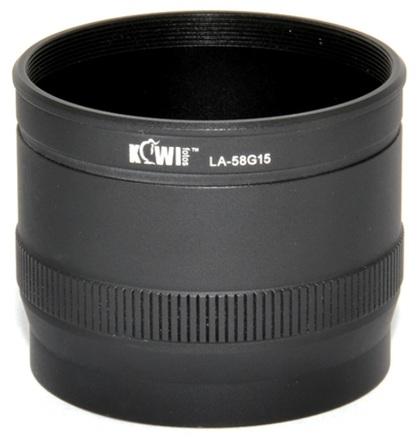 JJC adaptér na filtr LA-58G15 pro G15, G16
