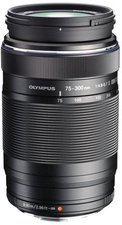 Olympus M.ZUIKO 75-300mm ED II f/4,8-6,7 EZ-M7530-2 černý