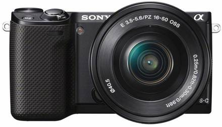 Sony NEX-5R + 16-50 mm černý + 16GB Ultra + originální brašna!