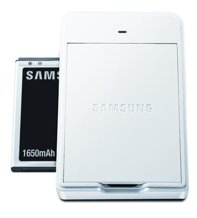 Samsung Battery Charger Kit pro Galaxy camera bílý