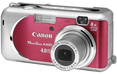 Canon PowerShot A430 červený