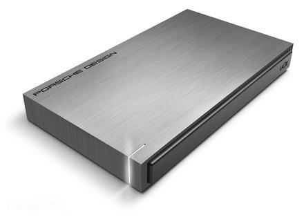 """LaCie Porsche Design Mobile 500GB HDD, 2.5"""" USB 3.0, hliníkový, tmavě šedý"""