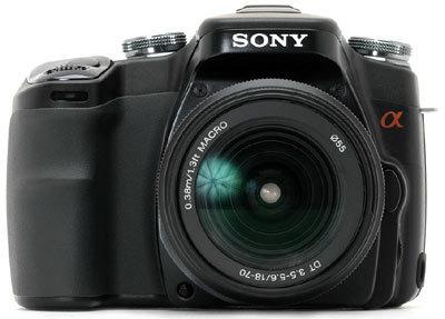 Sony Alpha A100 černý
