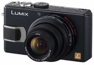 Panasonic DMC-LX2 černý