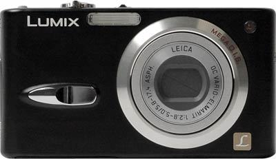 Panasonic DMC-FX3 černý