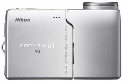 Nikon Coolpix S10 + SD 2GB karta!