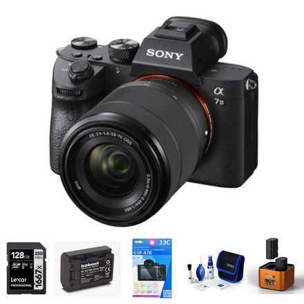 Sony Alpha A7 III + FE 28-70 mm OSS - Foto kit