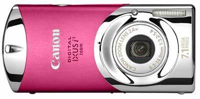 Canon Digital IXUS i7 růžový