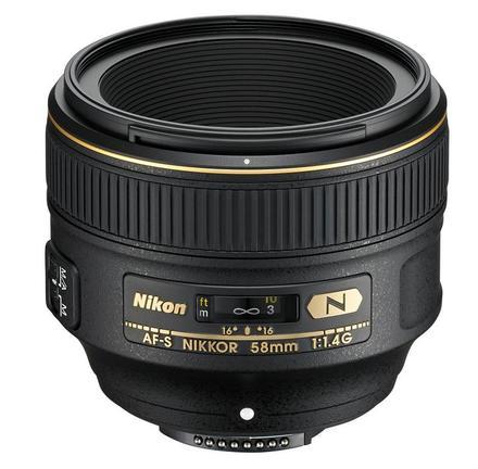 Nikon 58mm f/1,4 AF-S NIKKOR G