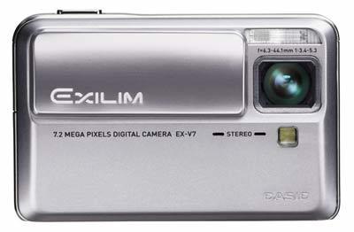 Casio Exilim V7 stříbrný