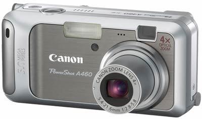 Canon PowerShot A460 stříbrný + pouzdro zdarma!
