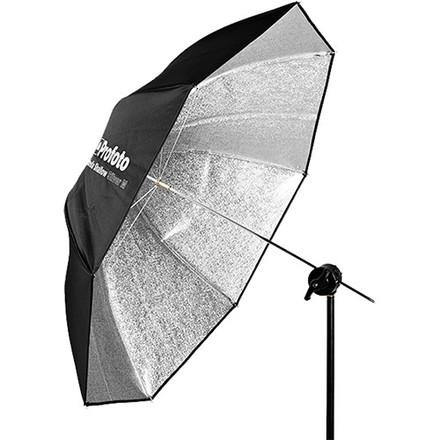 Profoto deštník Shallow M 105cm stříbrný