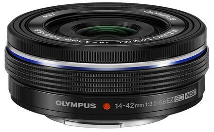Olympus M.ZUIKO 14-42mm f/3,5-5,6 EZ-M1442EZ Pancake černý