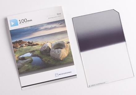 84.5mm Ultimate 100x150mm ND filtr 0,6 reverzní s ostrým přechodem