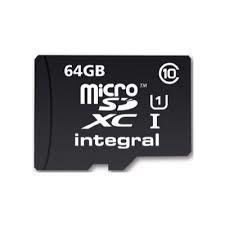 Pretec Micro SD (SDXC Class 10) 64GB karta + adaptér SD