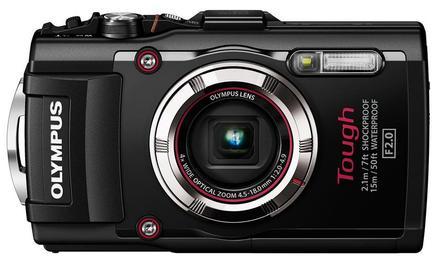 Olympus TG-3 černý + 16GB Ultra + pouzdro + adaptér + PL filtr 40,5mm +  plovoucí poutko!