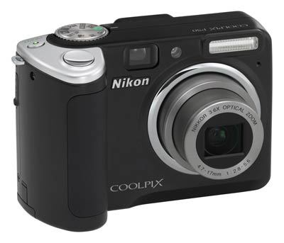 Nikon Coolpix P50 černý