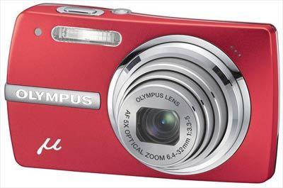 Olympus Mju 820 červený