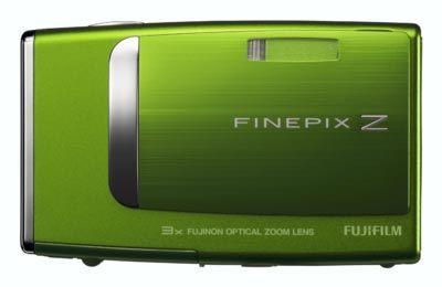 Fuji FinePix Z10fd zelený