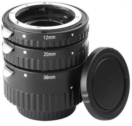 Meike sada mezikroužků 12mm/20mm/36mm pro Sony