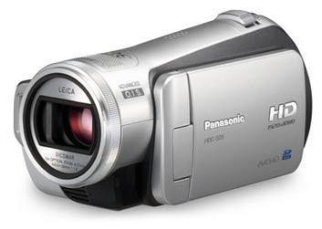 Panasonic HDC-SD5EG stříbrný + DVD přenosná vypalovačka VW-BN1!