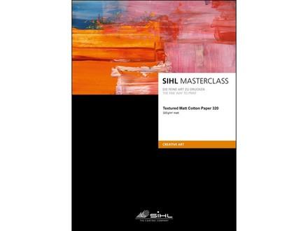 SIHL Textured Matt Cotton Paper 320 A4/25