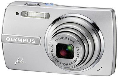 Olympus Mju 840 stříbrný